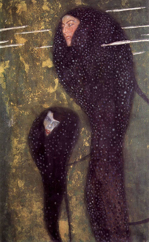 The Sirens Gustav Klimt